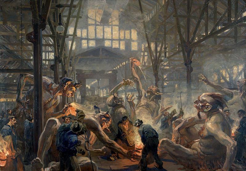 """Heinrich Kley - Die """"Krupp'schen Teufel"""" von Heinrich Kley sind nicht böse"""