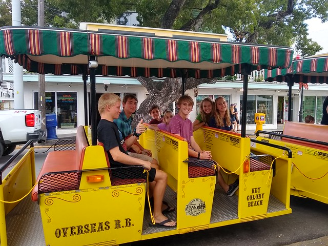Conch Train, Key West with Deon