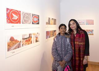 Vernissage de l'exposition Boucler la boucle 2019