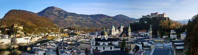 Altstadt Salzburg _Panorama