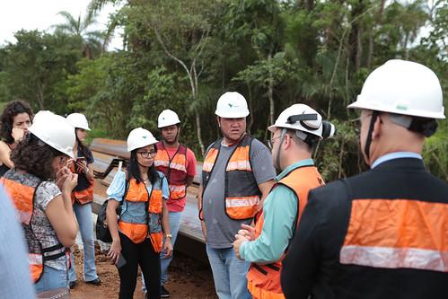 Visita técnica para fiscalizar e acompanhar as obras da Vale S/A, que visam implantar novo ponto de captação no Rio Paraopeba - Comissão de Meio Ambiente e Política Urbana