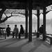 Afternoon meeting, Shuanghong Pavilion, Beihai Park, Beijing