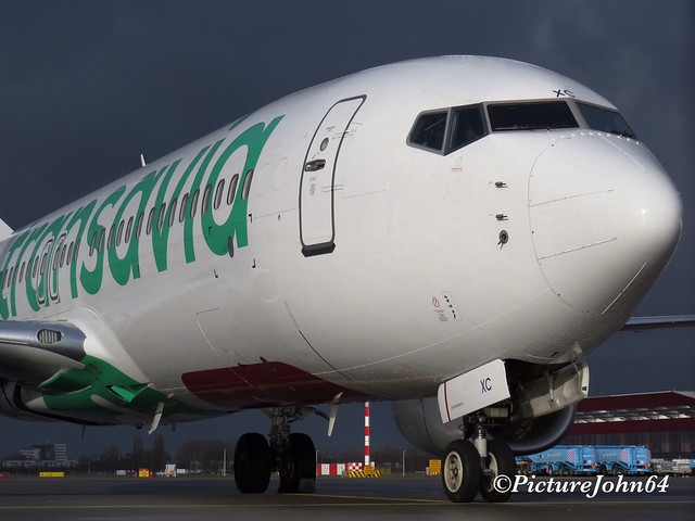 Transavia Boeing 737 (PH-HXC) at Schiphol East