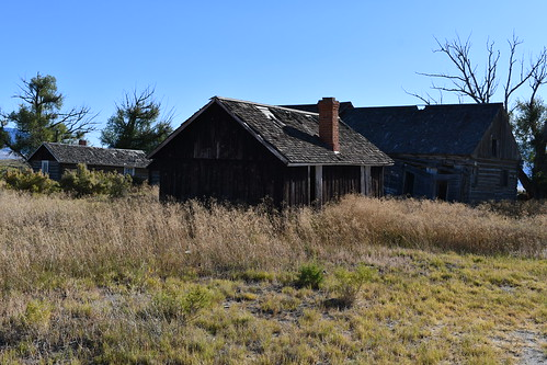Abandoned 19th century Ranch. From History Comes Alive at the Great Sand Dunes National Park
