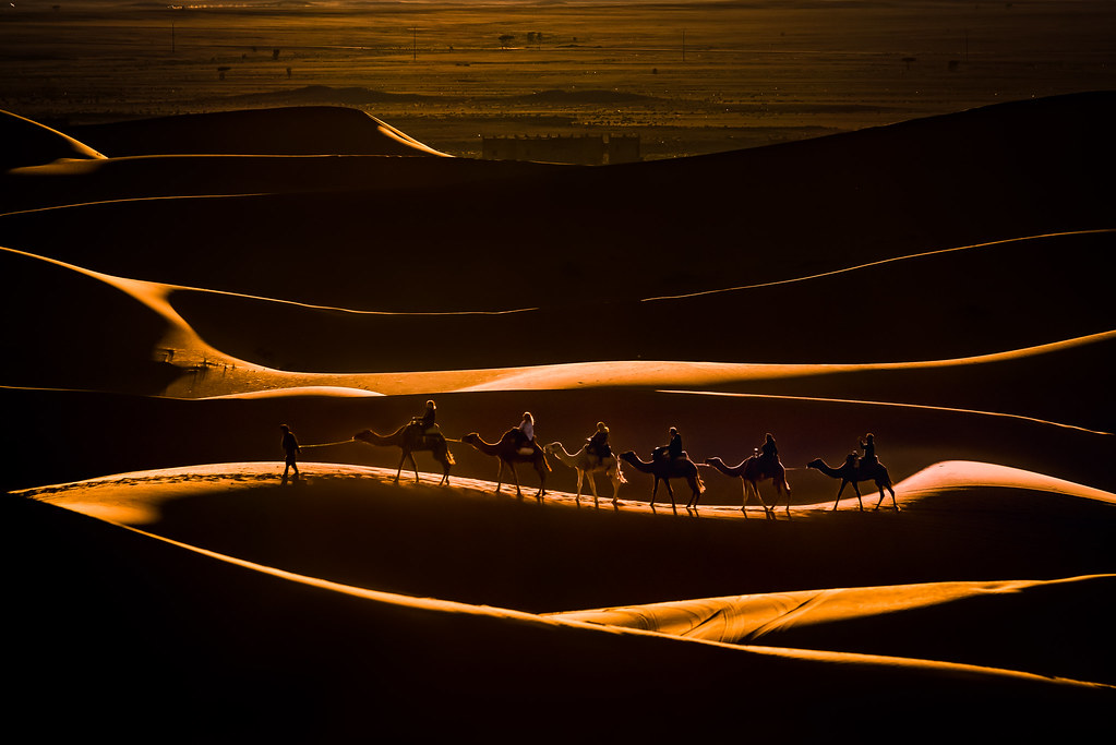 sunset ride (awarded 2019 Flickr's best shot contest)