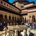 patio de los leones, La Alhambra