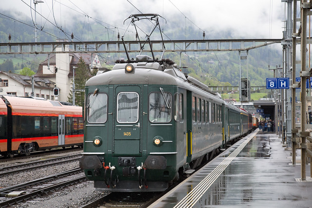 RBe 4/4 1405 Arth-Goldau, Gotthard Sonderzug