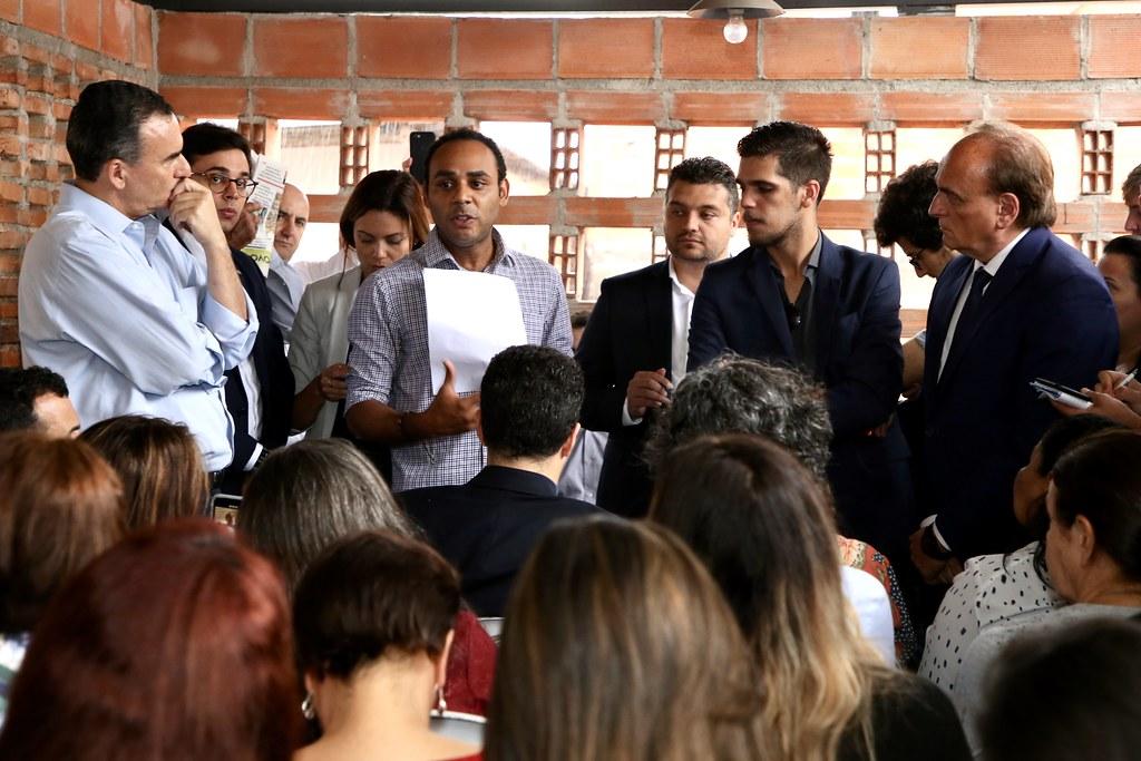 Encontro entre Secretários do Estado de SP e representantes da comunidade de Paraisópolis