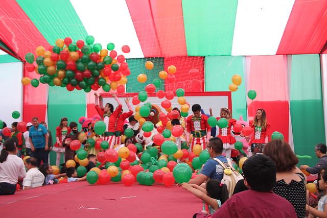 Universidad de San Martín de Porres realizó tradicional Navidad del Niño Sanmartiniano 2019