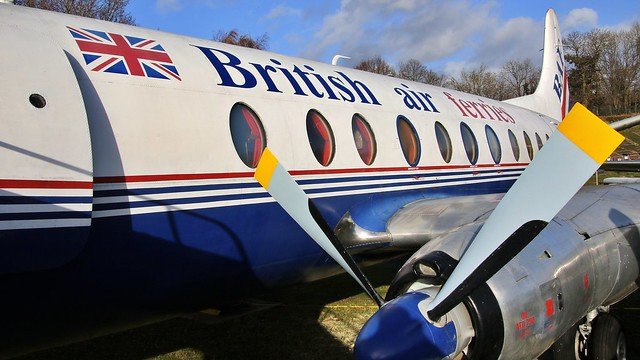 G-APIM Vickers Viscount 806, Rolls-Royce Dart 510F