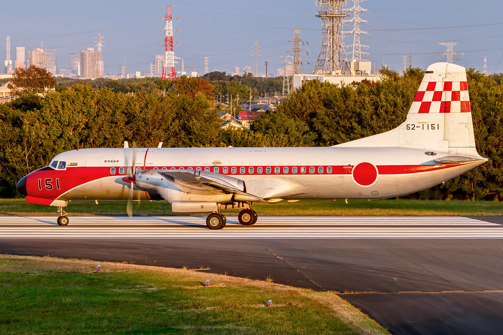 NAMC YS-11FC - 52-1151 - Flight Check Squadron - JASDF - JASDF Iruma Air Base