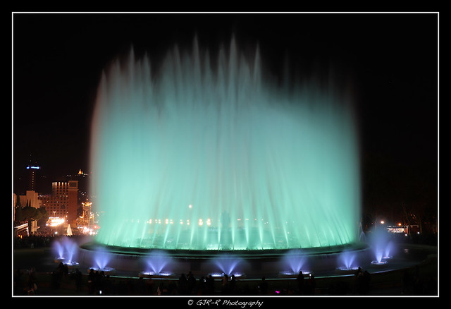2019.12.07 Montjuic Fountain by night 17