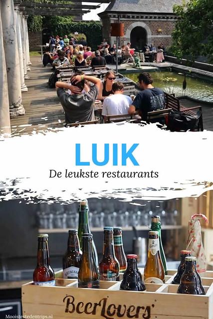 De leukste restaurants in Luik: 10x smullen | Mooistestedentrips.nl