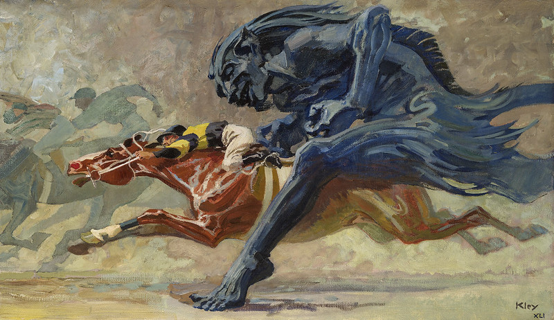 Heinrich Kley - The Race, 1940