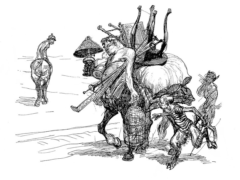 Heinrich Kley - Moving Day