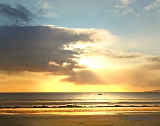 Ardrossan South Beach Sunset