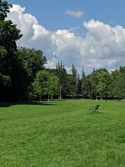 Ottawa - hot summer day, turbulent weather