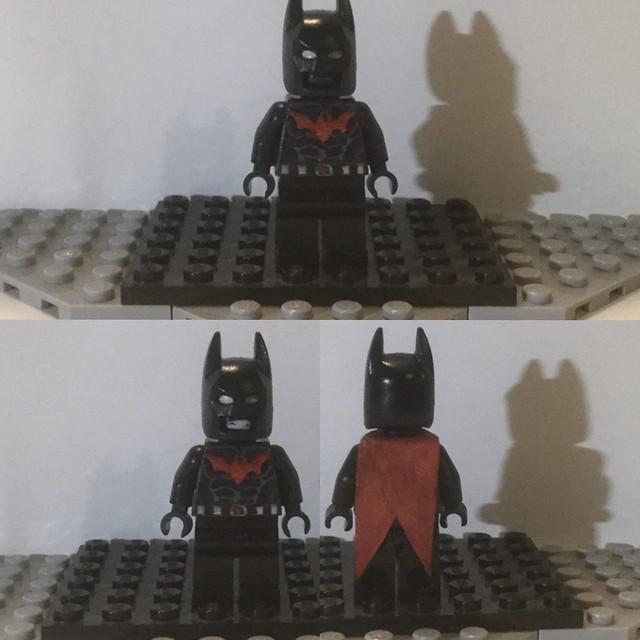 Lego Custom: Batman Beyond/Terry McGinnis (DC/Batman Beyond)