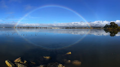 Rainbow over San Leandro Bay  (由  Jerry Ting