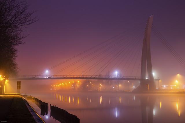 Bridge on a Misty Night