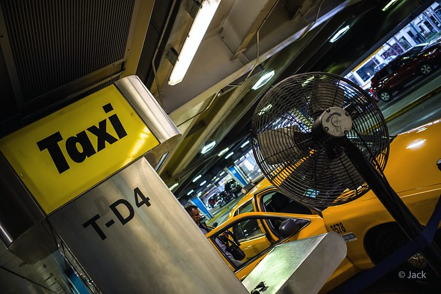 Miami mood - Taxi station