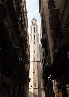 Basilica of Santa Maria Del Mar with X100F