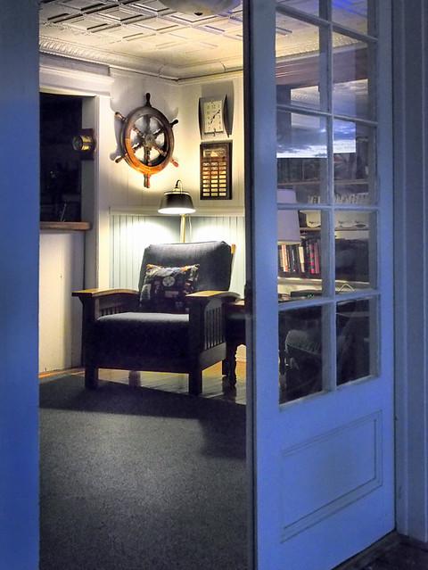 PC - night view of club chair - 10092361395_951021ff24_o