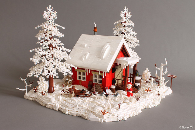 LEGO Santa Claus North Pole House