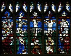 Sat, 08/16/2014 - 09:12 - Crucifixion (c1505) - St Maclou Rouen France 16/08/2014