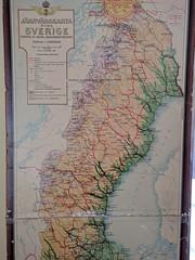 Sweden North Railway Map