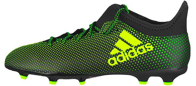 Adidas Junior Ace X 17.3 FG Football Boots Kids Boys Girls Firm ...