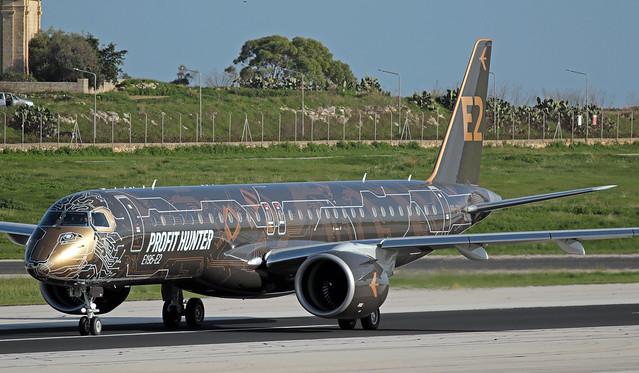 PR-ZIQ LMML 08-12-2019 Embraer Embraer 190-400STD CN  19020041