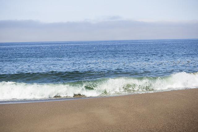 Waves Crash at Point Reyes