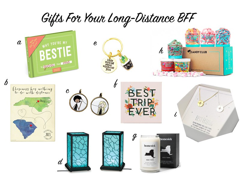 long distance bff gift guide
