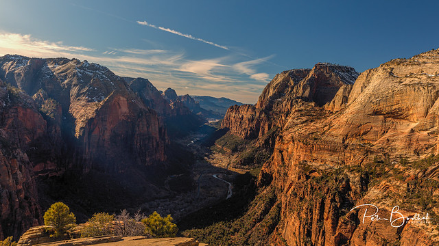 Zion Canyon from Angels Landing