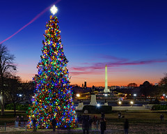 Holiday Sunset from the US Capitol