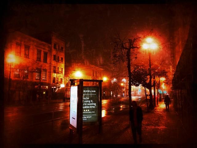 Market Street, 6am...