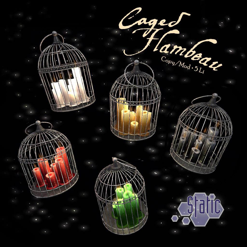 Caged Flambeau