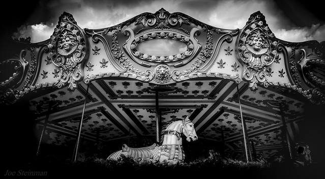 The Haunted Carousel After Closing Hours