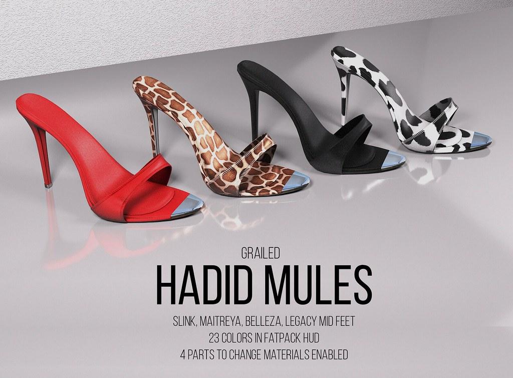 Hadid Mules