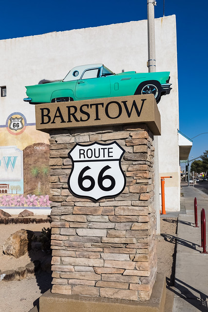 Route 66 in Barstow, California