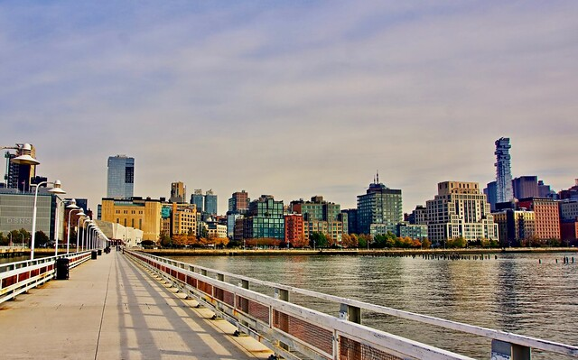 Pier 34, Holland Tunnel - New York City