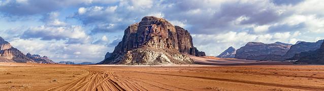 Spectacular Wadi Rum, Aqaba Governorate, Jordan