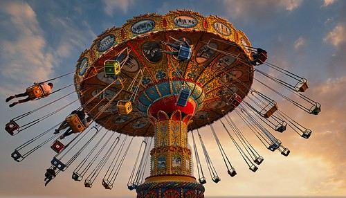 Life is like a Carousel. It goes up and down. All you gotta do is just stay on -Pharrell Williams