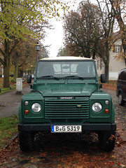 Landy sighting, Lübars