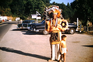 Found Photo -  Native American