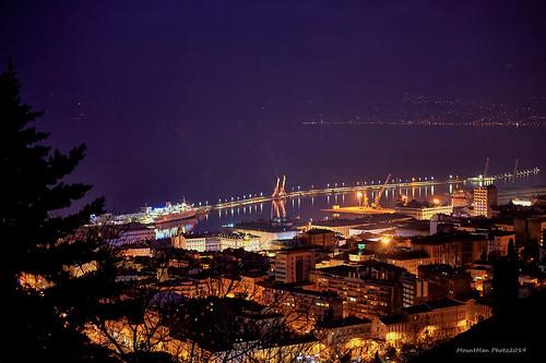 trsat rijeka primorskogoranska croatia nightscape noć noćnafotografija flickrunitedaward