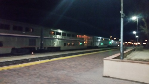 Southwest Chief at Winslow