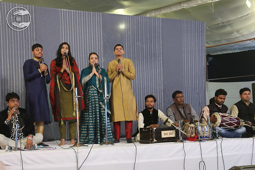 English devotional song by devotees from Aligarh