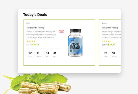 Bos Medicor PrestaShop Pharmacy Template - Attractive Hot Deal in Sale Season